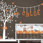 Nursery And Custom Name Decals