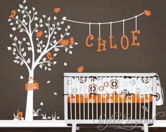 Nursery And Custom Name Decals