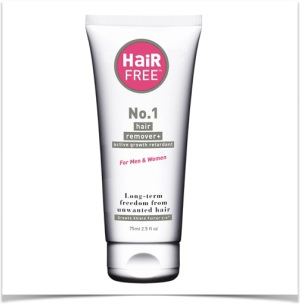 Removing Facial Hair With HairFree No.1