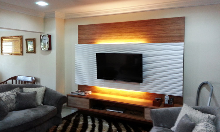 Beautify Your Living Wall With TV Unit Designs