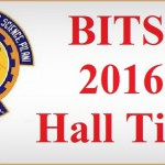 BITSAT Admit Card On Examination Hall