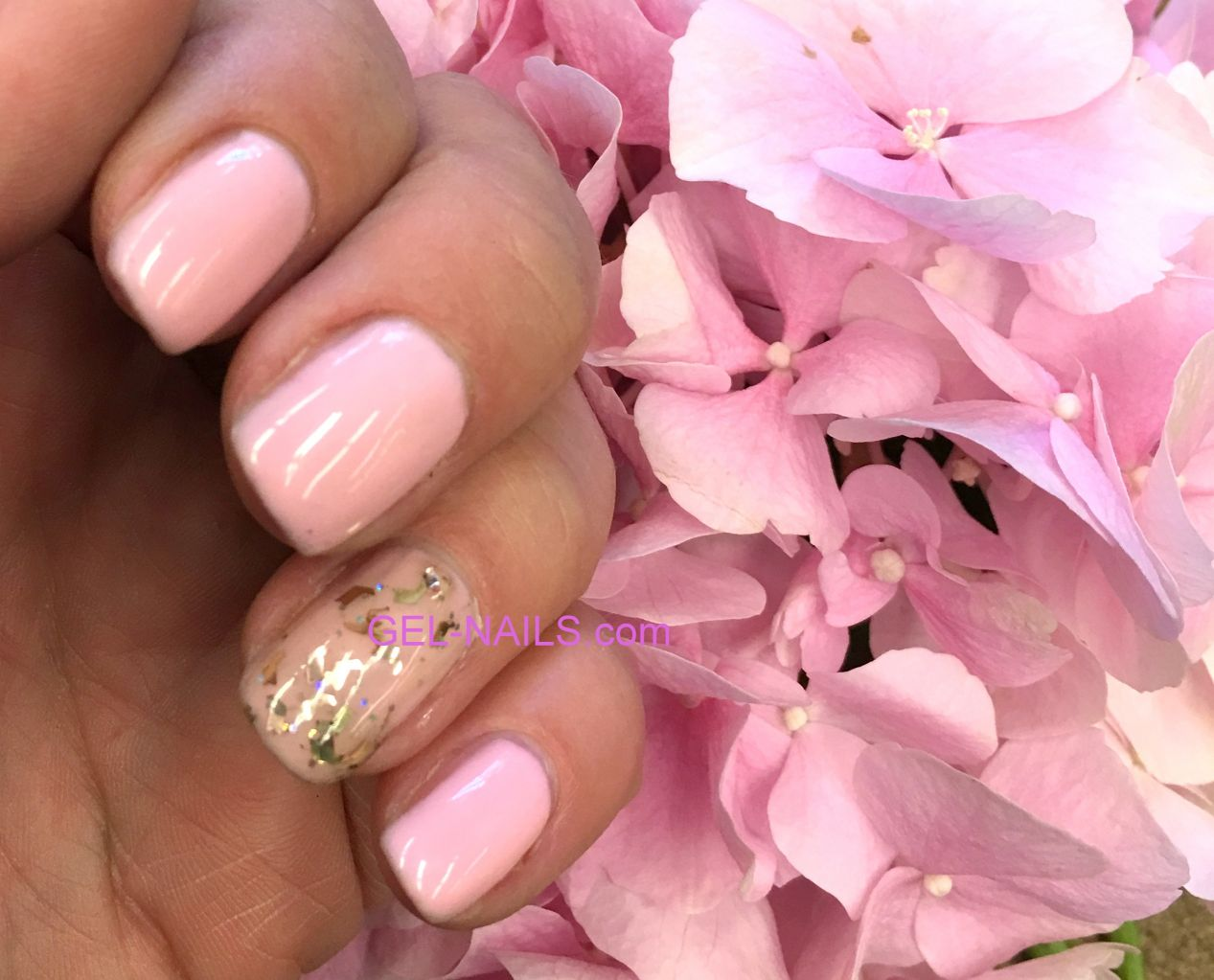 French' French manicure