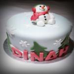 The snowman theme