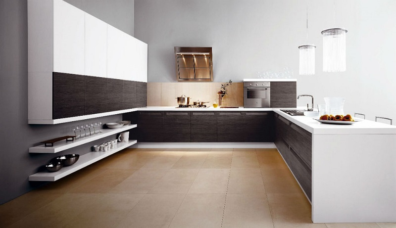 Abstract Italian Kitchen Design