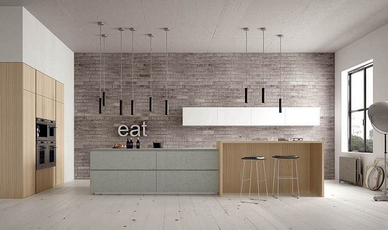 Sleek Italian Kitchen Design
