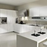 White Italian Kitchen Design