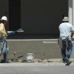 concreting a driveway