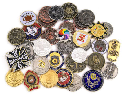Enjoy Exclusive Custom Coins As Personalized Gifts