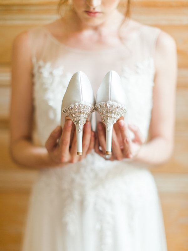 Look Most Elegant On Your Special Day With A Pair Of Exquisite Wedding Shoes