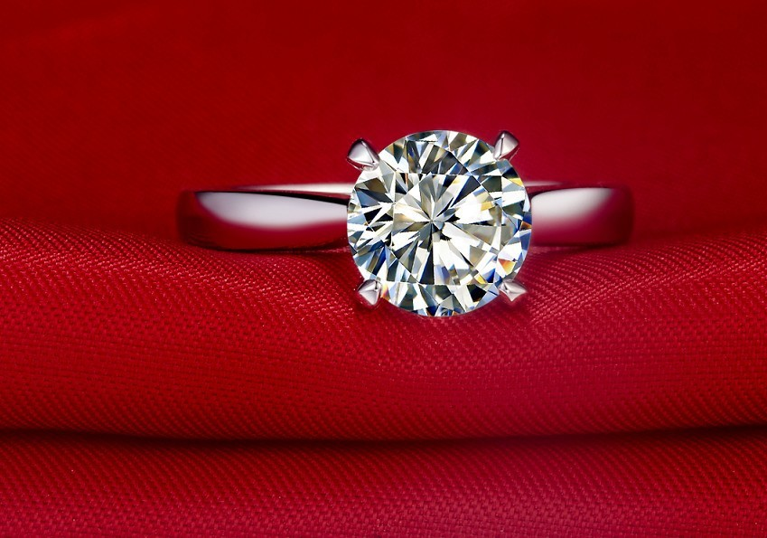 Classic-Custom-T-Brand-2CT-Hearts-and-Arrows-Moissanite-Ring-Solitaire-Engagement-Jewelry-18K-White-Gold