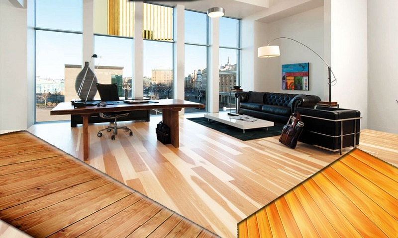 Vivify Interior With Posh Commercial Wood Flooring In London