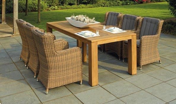 cool outdoor dining set