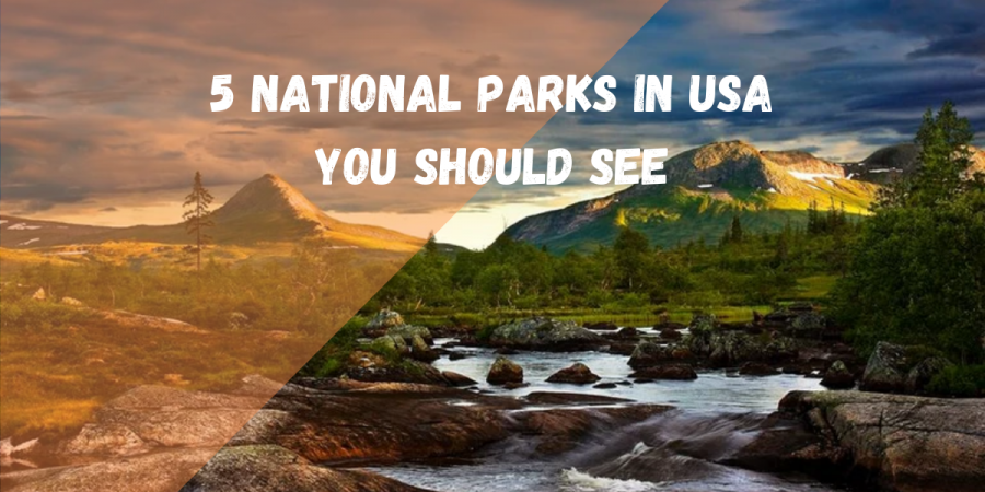5 National Parks In USA You Should Have A Look