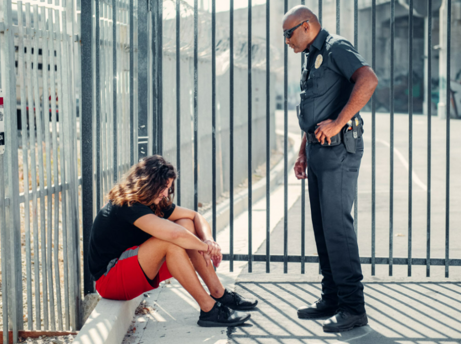 Teen or younIs Your Kid Facing Charges? What Parents Can Do If Their Teen Is Arrestedg adult being arrested by a cop