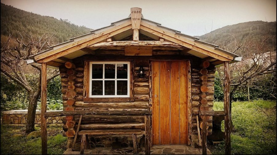 How to Build A Cabin In The Woods From The Ground Up
